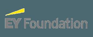 ey foundation text logo